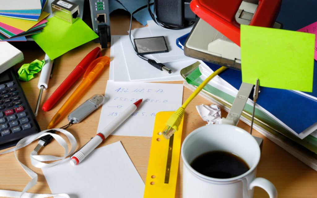 Spring cleaning: 5 easy tips for an organized work space